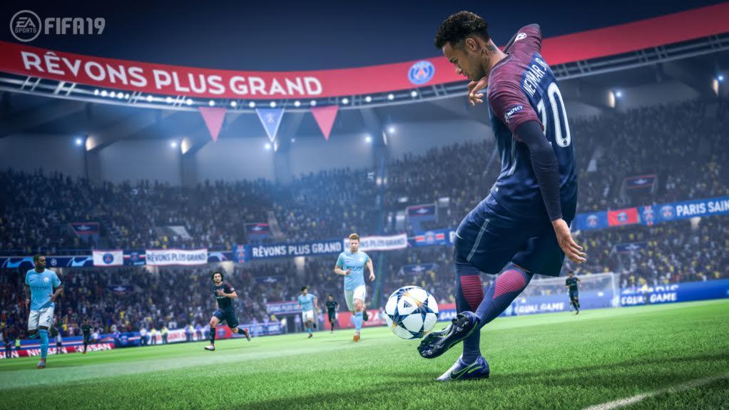 FIFA 19 tendrá oficialmente la UEFA Champions League