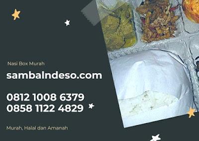 paket Harga nasi box 2018 kota Tangerang