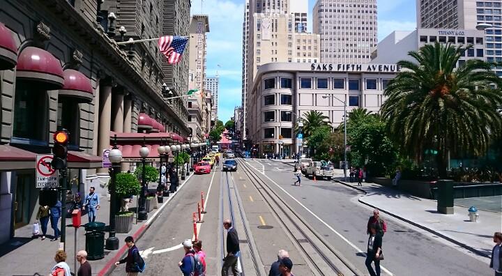 San Francisco Urban Street View