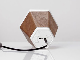 Minimalist Design Make  for a One-Two Audio Punch Bluetooth Wood Speaker