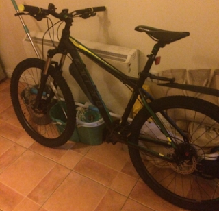 Stolen Bicycle - Carrera Fulcan