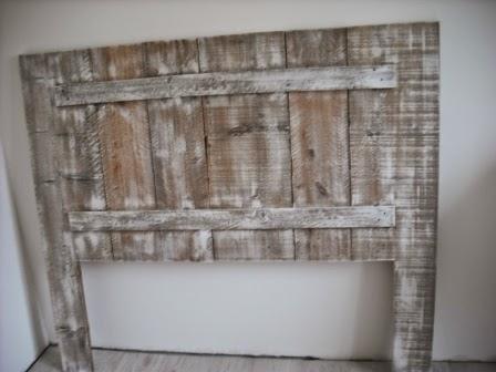 Fabriquer une t te de lit en bois de coffrage - Tete de lit en planche de coffrage ...