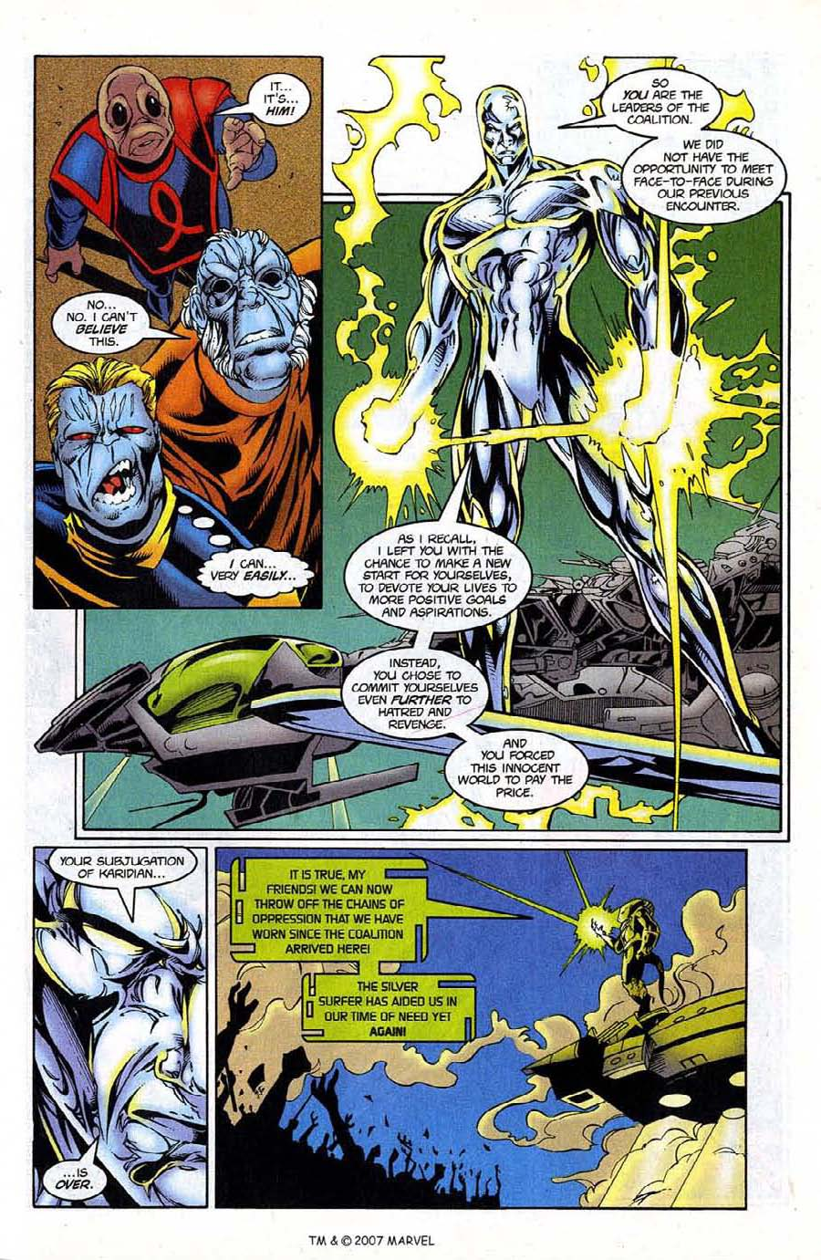 Read online Silver Surfer (1987) comic -  Issue #124 - 31