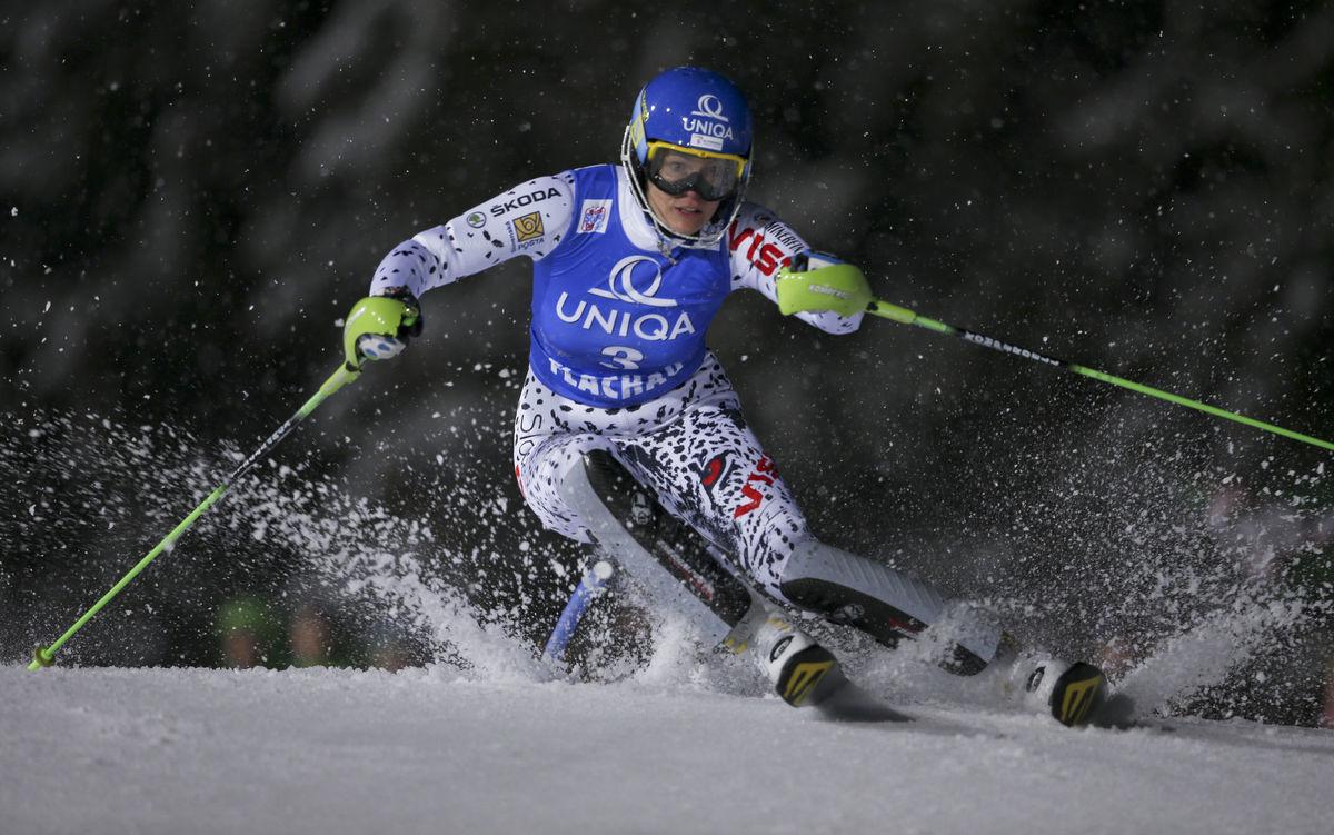 slalom žien Flachau