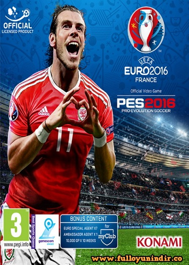 PES UEFA EURO 2016 France