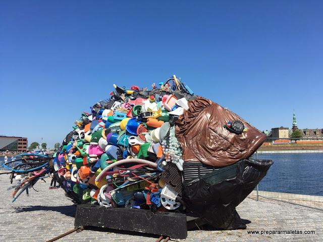 pez reciclado elsinor