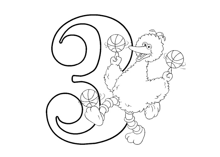 Coloring Pages For Kids Number Three Quot 3 Quot Coloring Pages