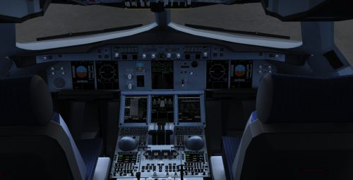 Project Airbus A380 Fsx Virtual Cockpit - NYC