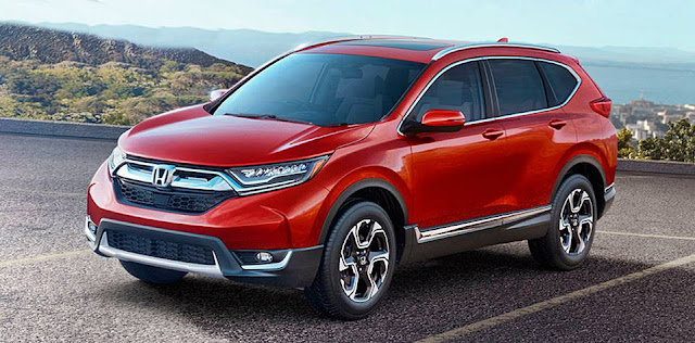 2017 Honda CR-V unveiled in the US