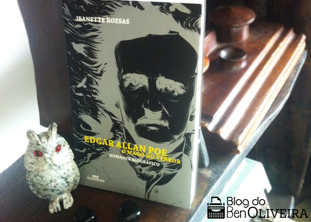 Livro Edgar Allan Poe Mago Terror Jeanette Rozsas