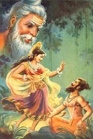 Apsaras soyundan olan peri kızı Urvaşi ile ölümlü Kral Pururavas'ın trajik aşk öyküsü