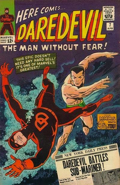 Daredevil #7, the Sub-Mariner