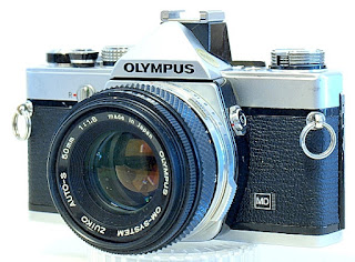 Olympus OM-1n, Right front