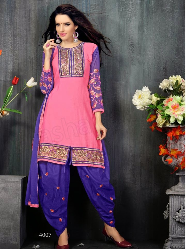 Patiala Suits 2015 Indian Patiala Salwar Kameez For Girls By