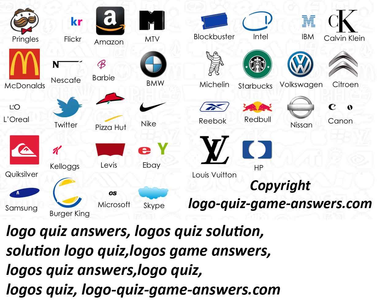 PZ C: logo quiz solution