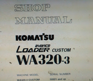 Wa 320-3 shop manual wheel loader komatsu