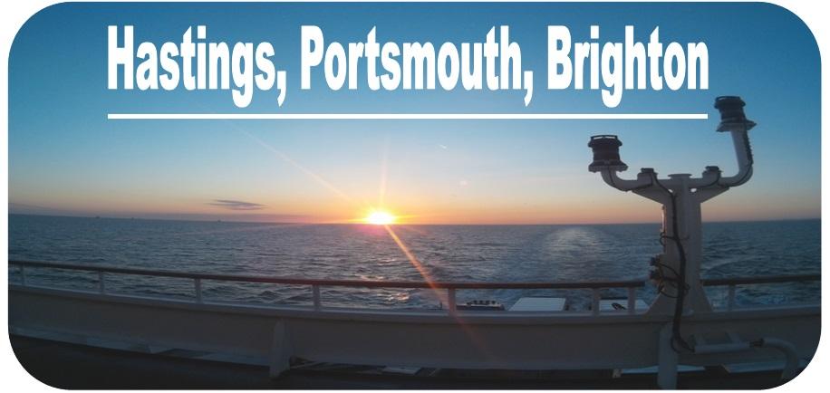 Angielskie portowe miasteczka: Hastings, Portsmouth i Brighton