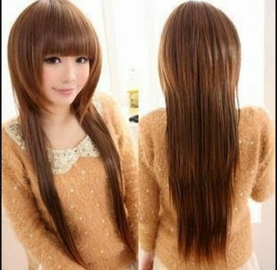 potongan rambut untuk muka bulat