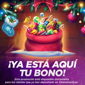 vivelasuerte ya esta aqui tu bono de navidad 24-26 diciembre