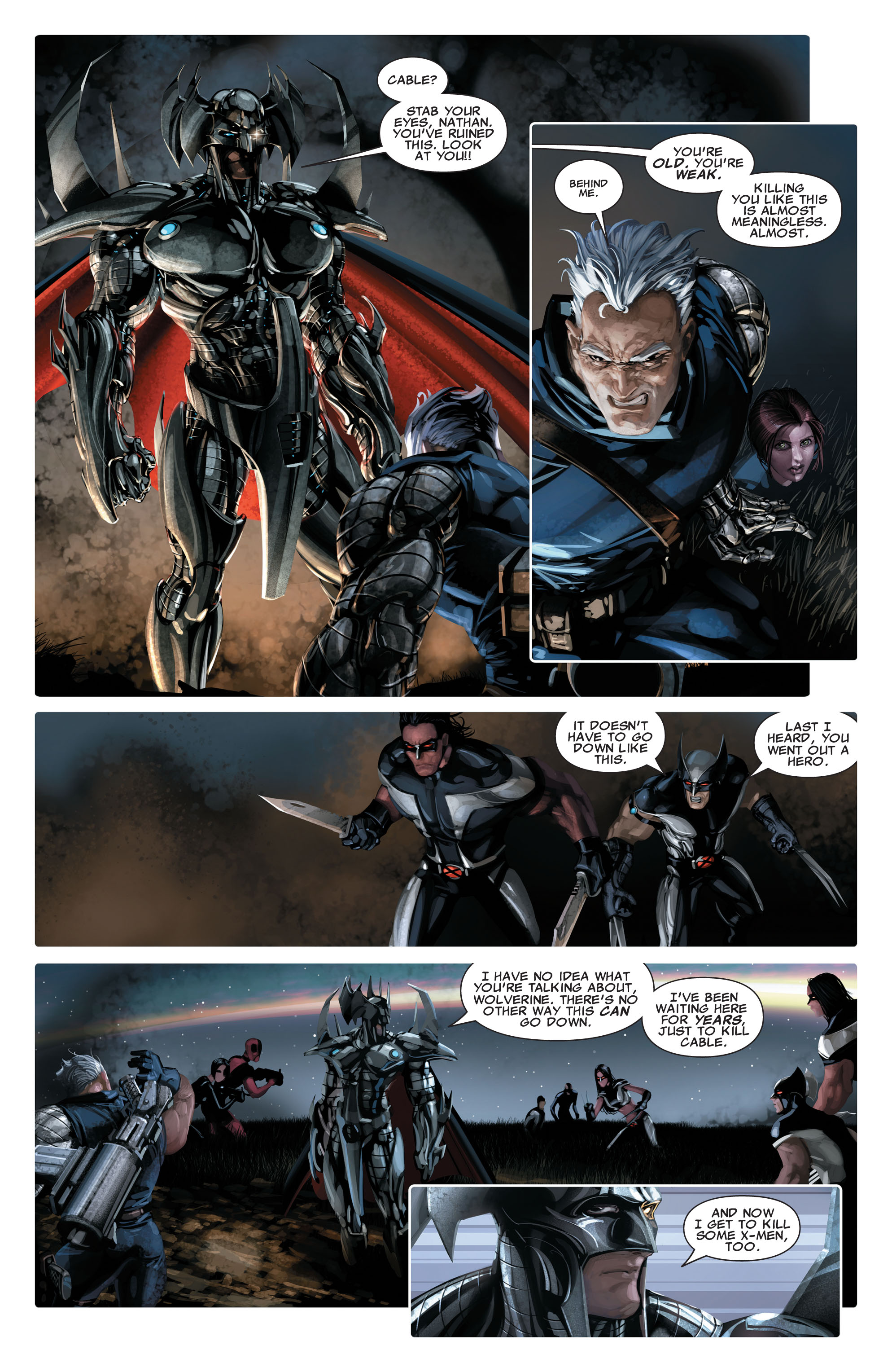 Read online X-Force (2008) comic -  Issue #14 - 19