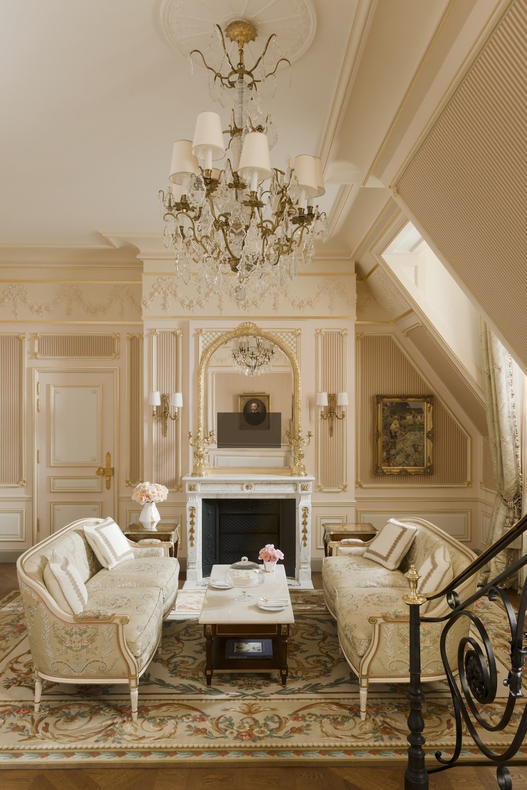 Passion for luxury ritz paris is back the most luxurious for Hotel design paris spa