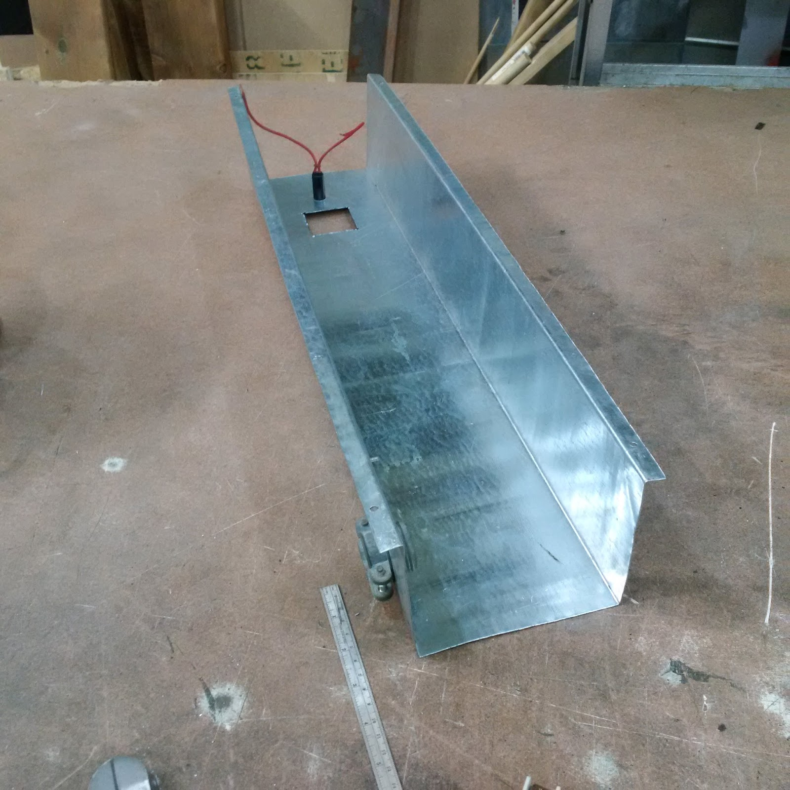 Another Day Another Project Diy Sheet Metal Brake