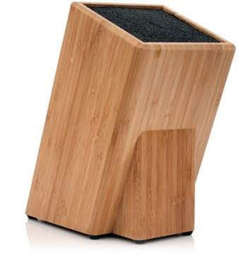 Kapoosh® Bamboo Knife Block | Bed Bath & Beyond