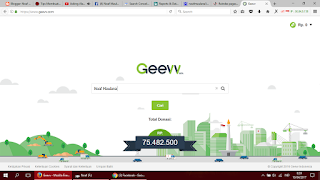 Geevv social search engine