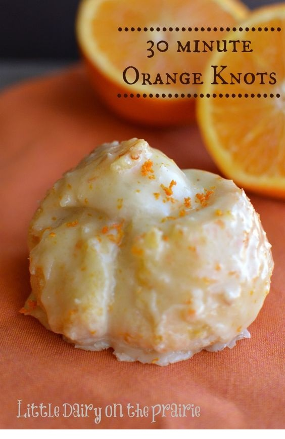 30 Minute Orange Knots