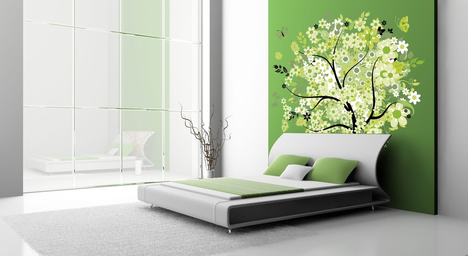 Bedroom wall decorations modern - Bedroom Wall Hangings Decorations