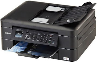 DW offers reliable printing speed of internet connectivity Brother MFC-J480DW Driver Download
