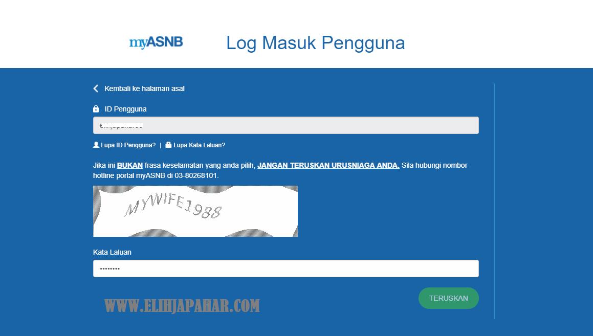 Cara Daftar Akaun Myasnb Secara Online