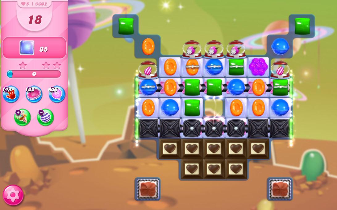 Candy Crush Saga level 6602
