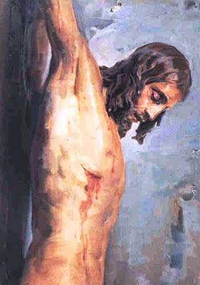 Cristo en la cruz, Félix Revello de Toro, Revello de Toro, Pintores Malagueños, Retratos de Revello de Toro, Pintor español, Pintores de Málaga