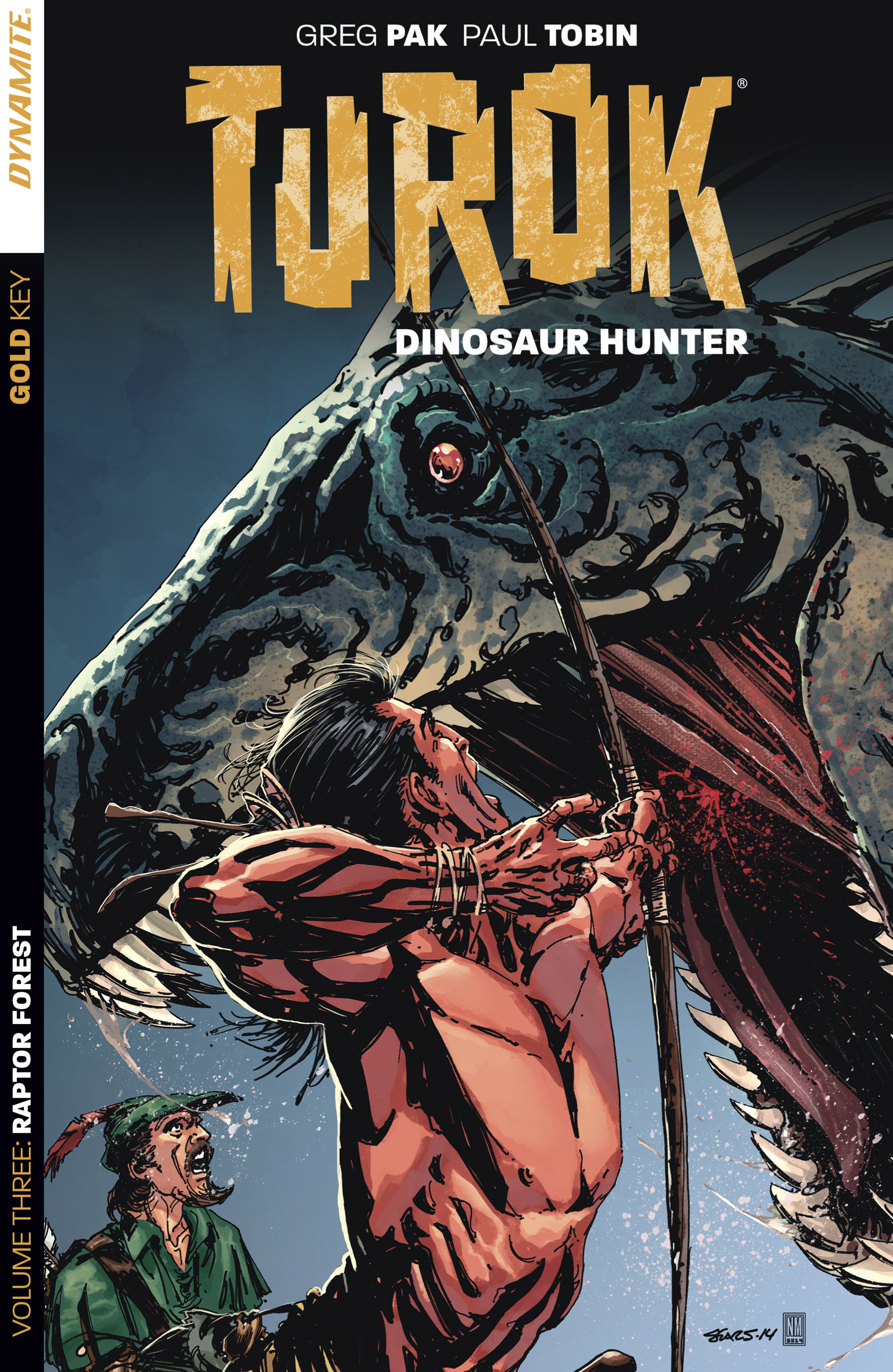 Read online Turok: Dinosaur Hunter (2014) comic -  Issue # _TPB 3 - 1