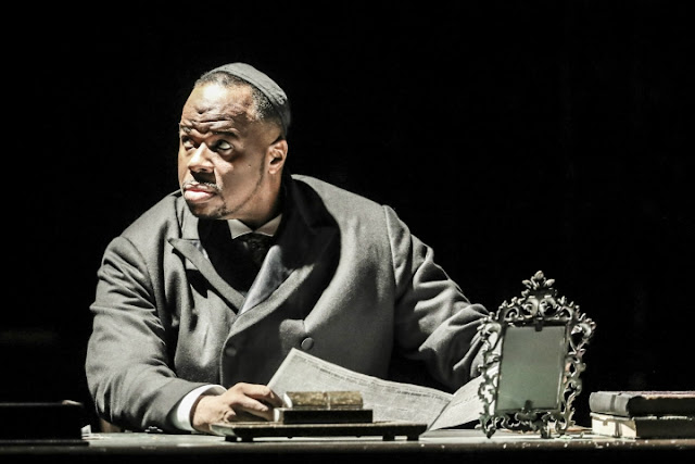 Lester Lynch - André Tchaikowsky: The Merchant of Venice - Welsh National Opera (Photo Johan Persson)