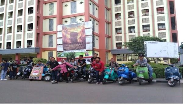 The Djavu : Wadah Silaturahmi Pencinta Vespa UIN