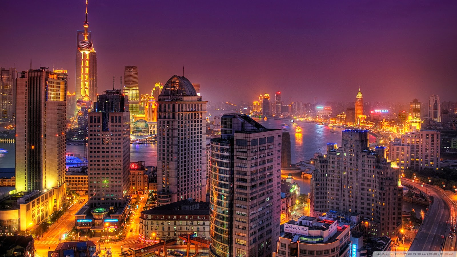 Colorful Cities HD Wallpapers