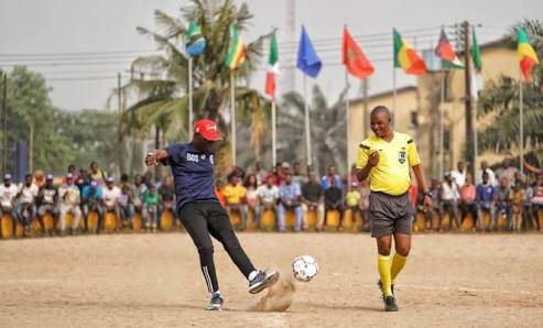 Mock Nations Cup The Legendary Grassroots Football Competition In Lagos Nigeria Cheer On Nigeria