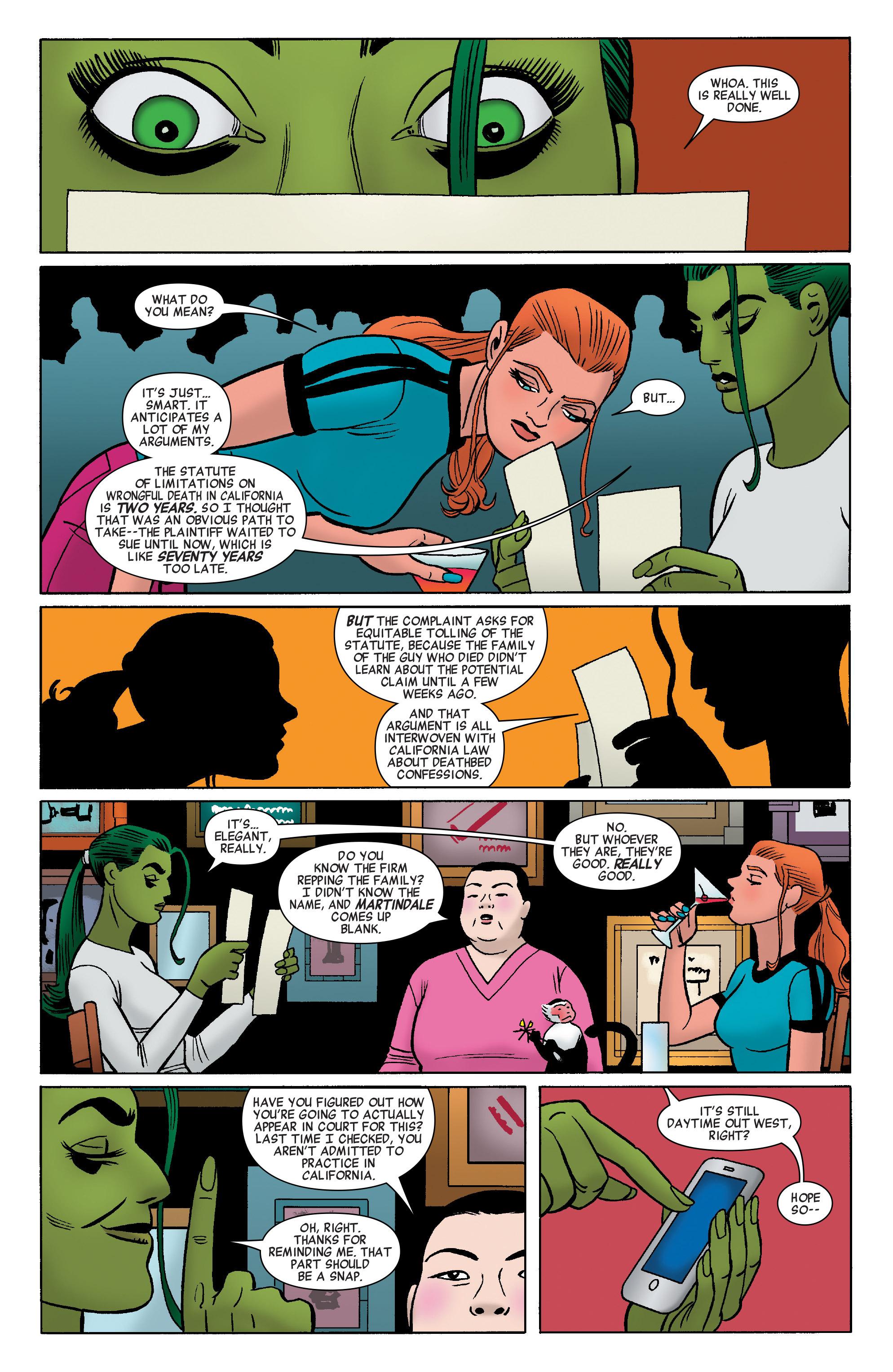 Read online She-Hulk (2014) comic -  Issue #8 - 10