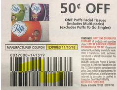 save $0.50/1 puffs