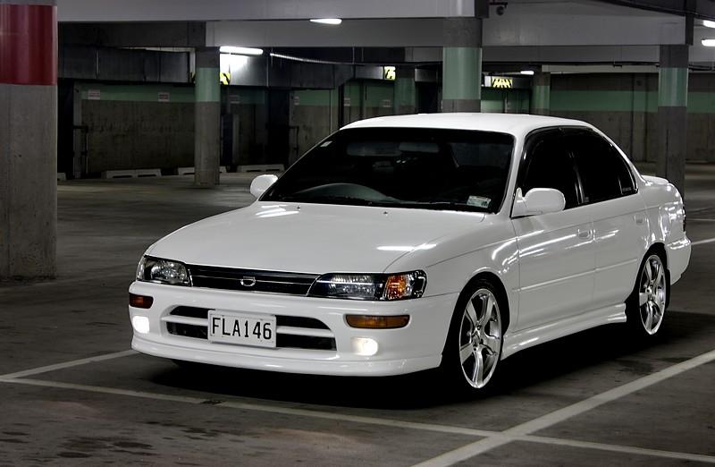 Modified Cars: Toyota Corolla 1993 Modified