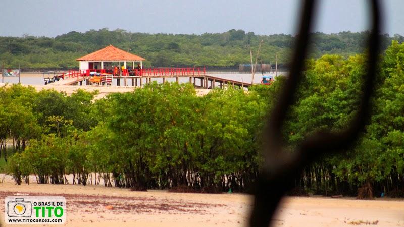 Trapiche do Algodoal, na vila do Algodoal, na ilha de Maiandeua, no Pará