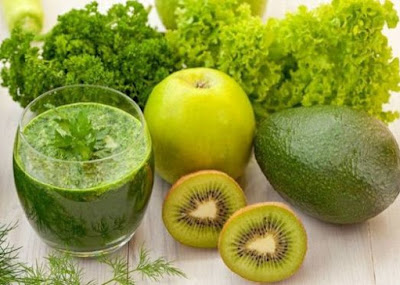 SIX GREEN DRINKS FOR CLEANSED ORGANISM, FLAT BALLY AND CRAVING CONTROL
