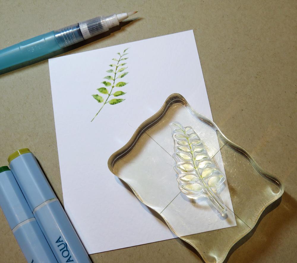 Kendra 39 s paper creations gina k handmade botanicals for Handmade paper creations