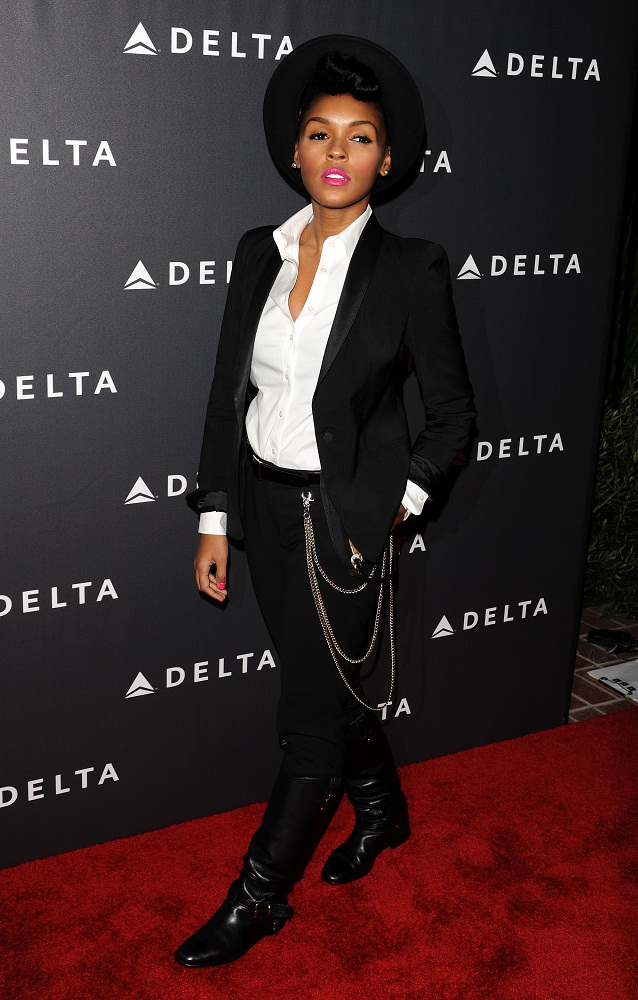 Janelle Monae - Delta Airlines GRAMMY Week LA Reception (Feb. 7) 2013