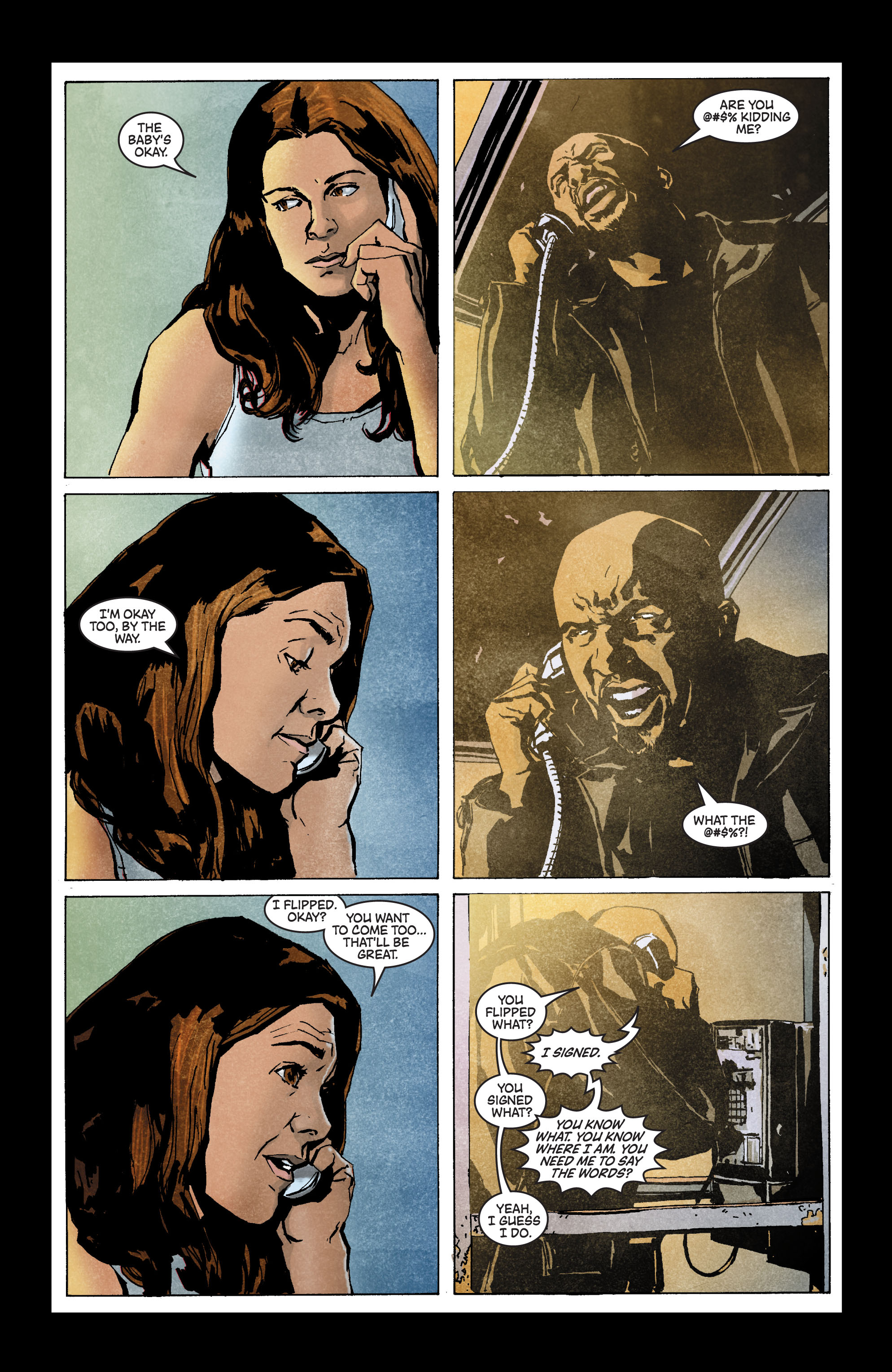 Read online Secret Invasion: The Infiltration comic -  Issue #3 - 6