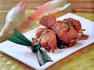 Gambar Resep Ayam Masak Kecombrang