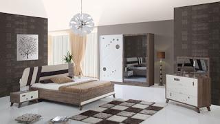 ديكور غرف نوم تركية بالاناقة والرومنسية