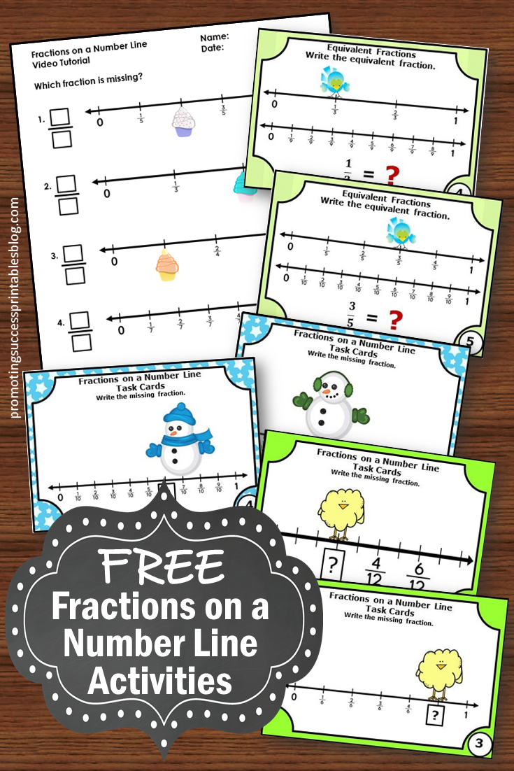 small resolution of Promoting Success: Fractions on a Number Line 3rd Grade Tutorial for Kids